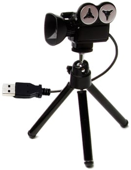 lights, WEBCAM, action! USB video