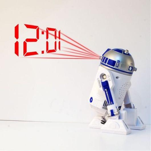R2D2 Projection Clock