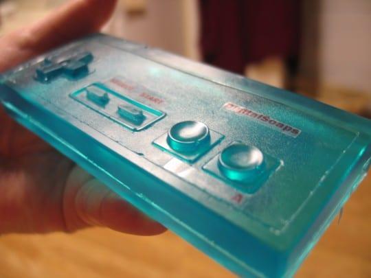 NES Nintendo game controller soap