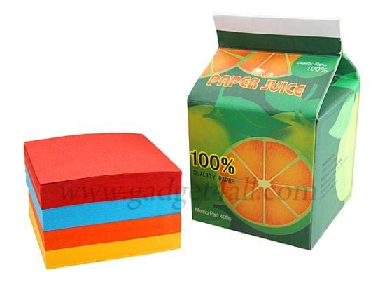Juice Memo Pad