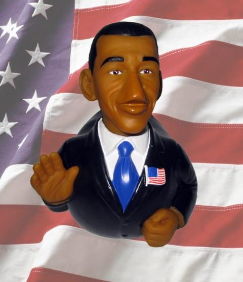 Barack Obama rubber duck