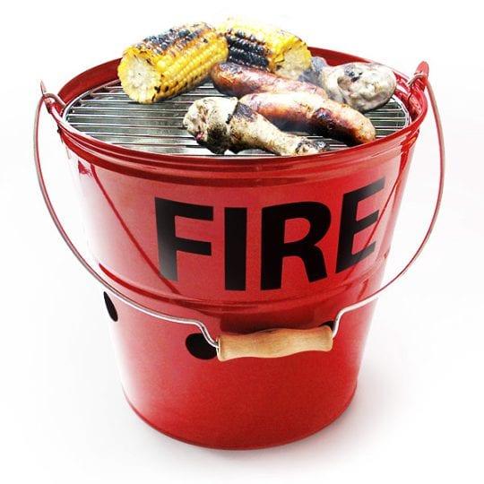 Fire Bucket BBQ