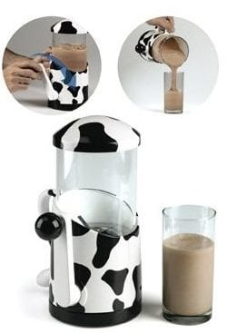 Hand Crank Milkshake Mixer