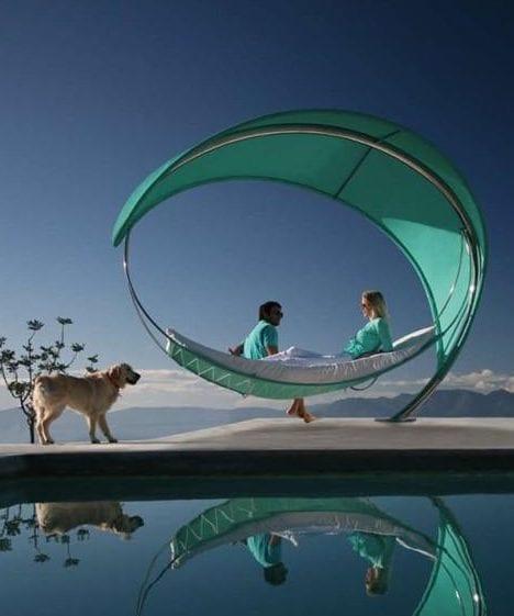 wave hammock-parasol