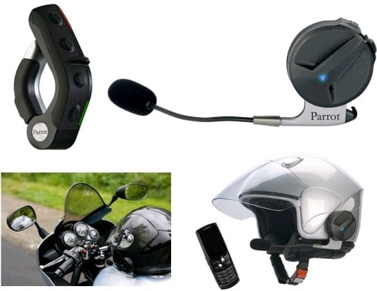 Bluetooth Kit for motorbike and scooter