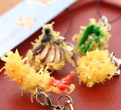 Food Sample Cell Phone Strap