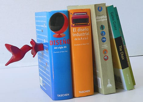 Hummingbird Magnetic Bookend