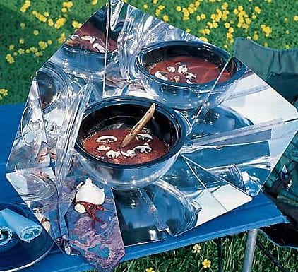 Hot Pot Simple Solar Cooker