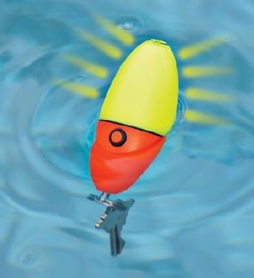 Floating LED Keychain