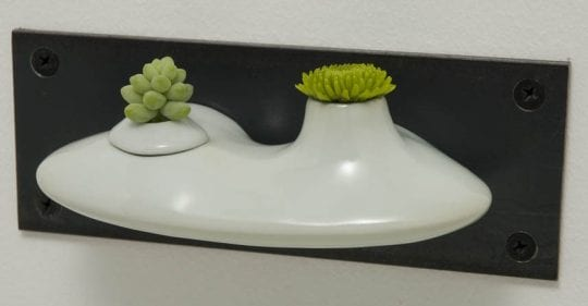 porcelain wall budvase
