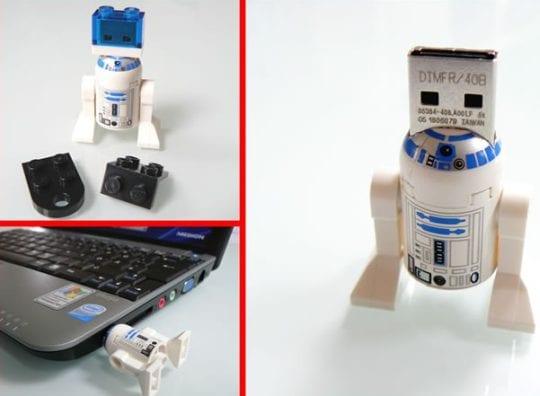 Flash Memory in a original LEGO Figure
