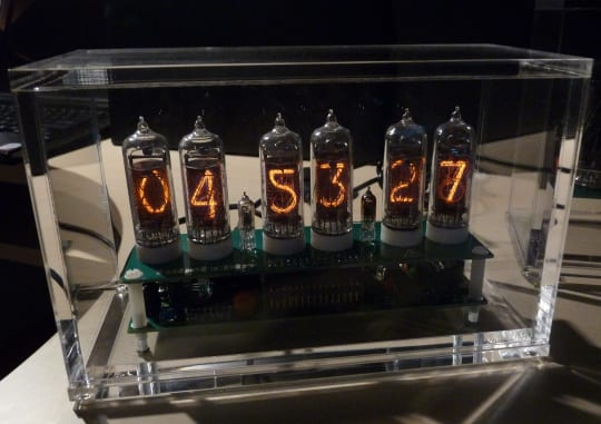 GPS controlled IN-14 Nixie Clock