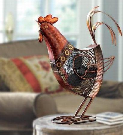 Rooster Fan