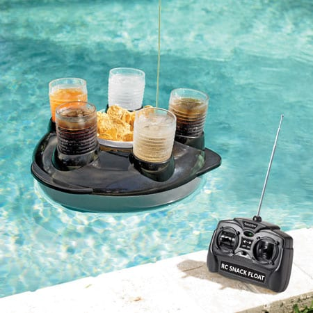 Radio-Controlled Pool Snack Float
