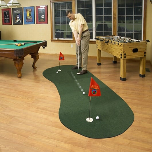 Expand-A-Green Putting Surface