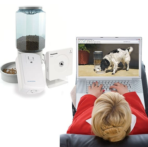 Remote Pet Feeding & Viewing Camera Kit