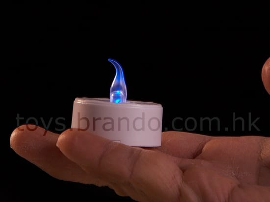Fading Out LED Blow On-Off Candle