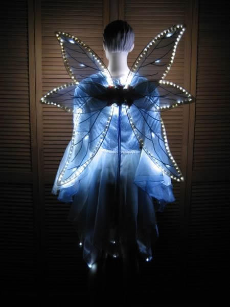 wings with LED