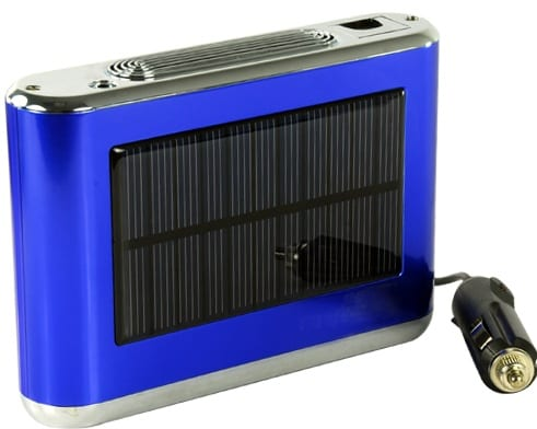 Vehicle Air Freshener and Purifier - Solar Powered