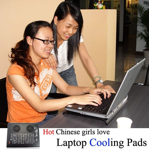 Laptop Cooling Pad with Twin Fans