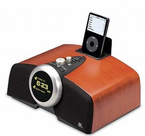 Tabletop Radio with iPod Dock