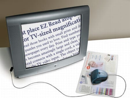 EZ Read Electronic Reading Aid
