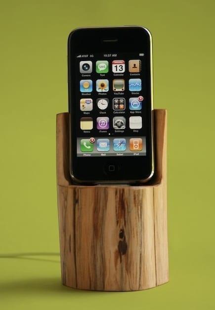 iPhone/iPod docking station