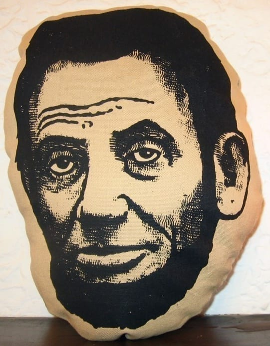 Abraham Lincoln Pillow