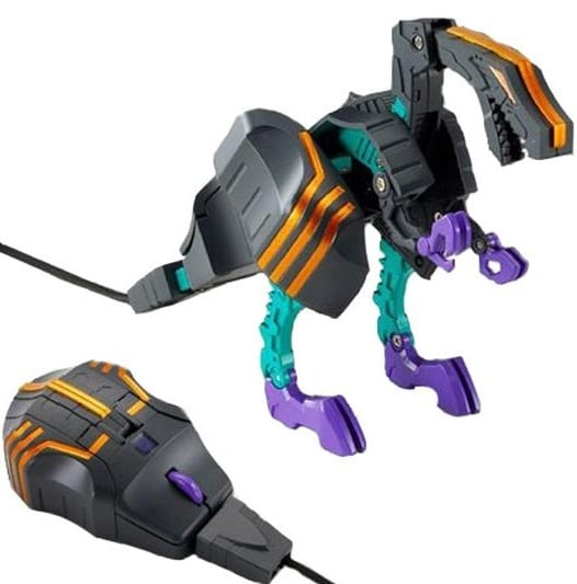 Transforming Laser Mouse - Trypticon
