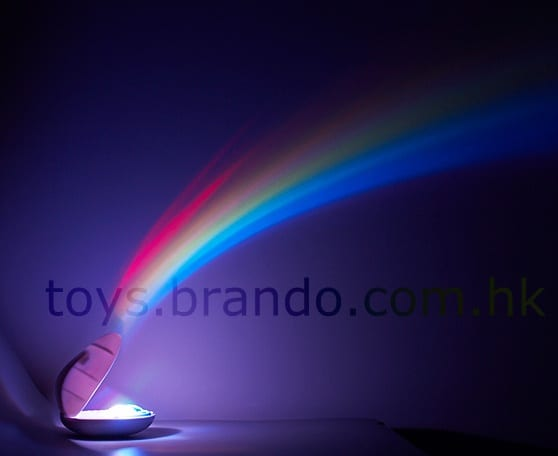The Handheld Rainbow Projector