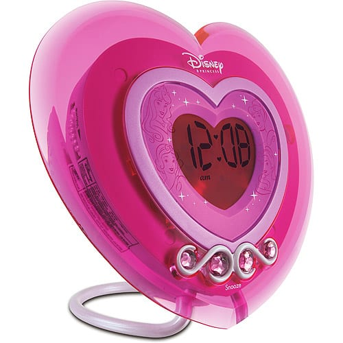 Disney Princess LCD Alarm Clock / Radio