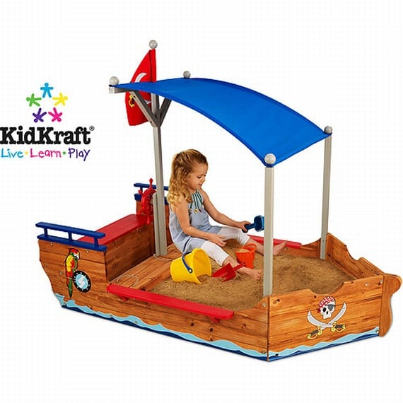 KidKraft 00128 Pirate Sandboat
