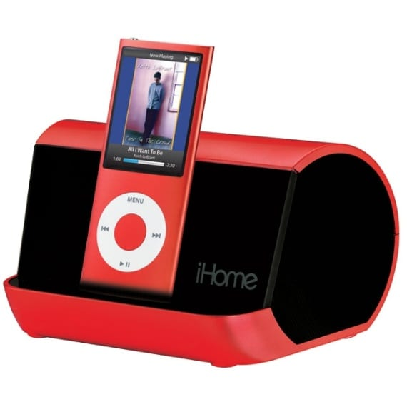 Portable MP3 Player Stereo Speaker System
