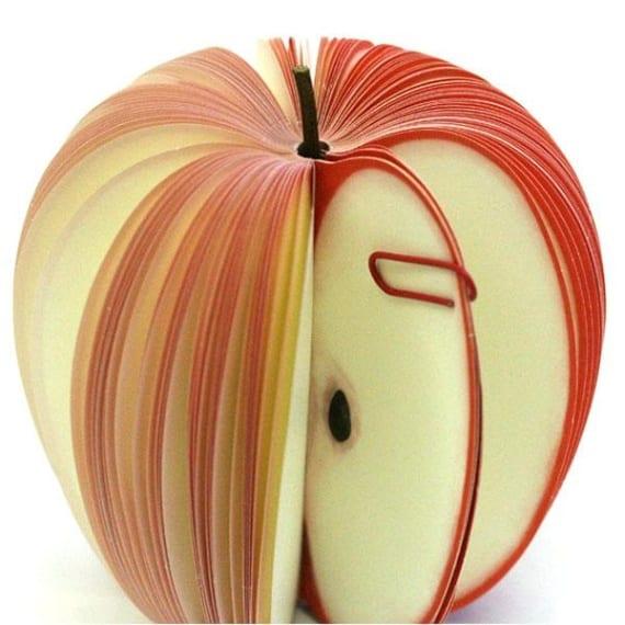 Fruit-Shaped Sticky Notes