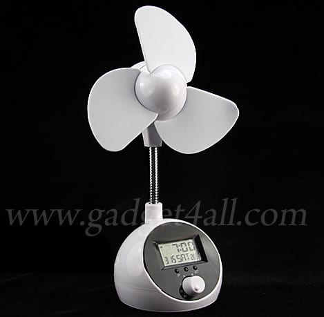 USB Fan With Speed Controlled And Calendar