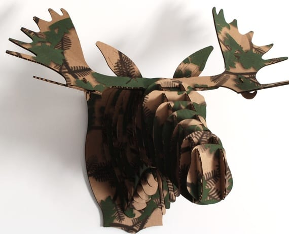 Large Moose Trophy- Camouflage