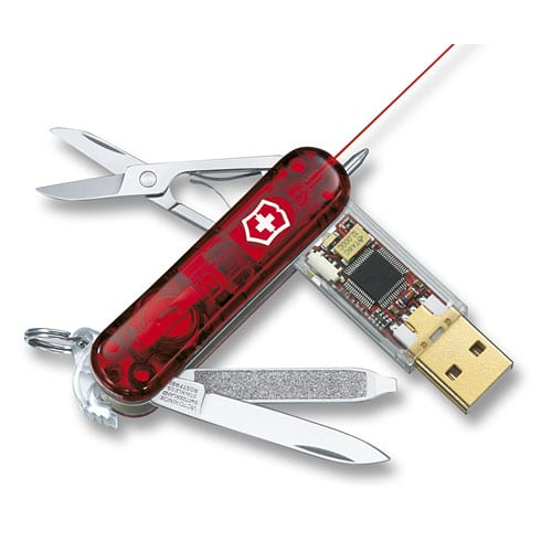 SwissFlash 16 GB Laser Pointer