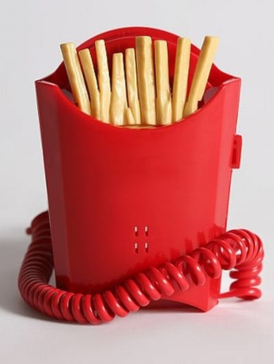 French Fry Phone