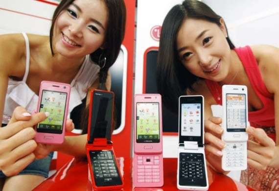 LG launches two full touch phones with 'Live Character Park'