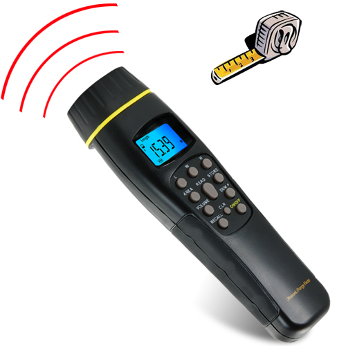 Laser Sighted Ultrasonic Range Finder