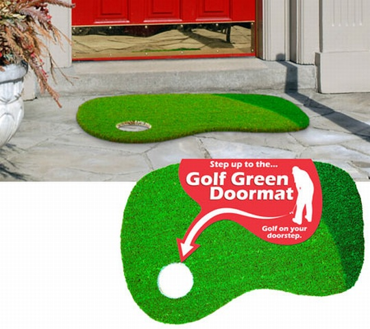 GOLF GREEN DOORMAT