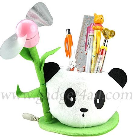 Panda Holder With USB Fan