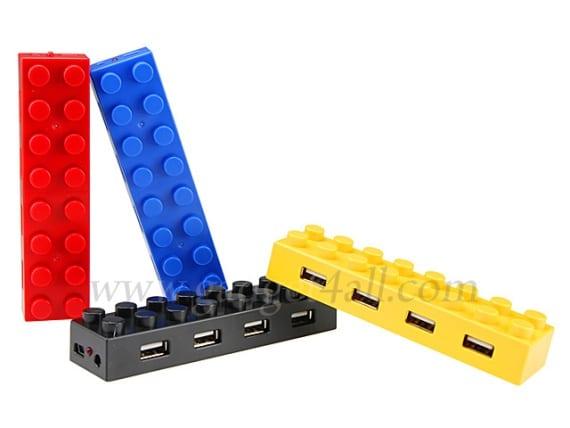 Brick USB 4-port Hub