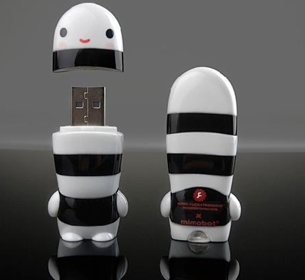 Mr. Phantom X MIMOBOT designer USB flash drive by FriendsWithYou.
