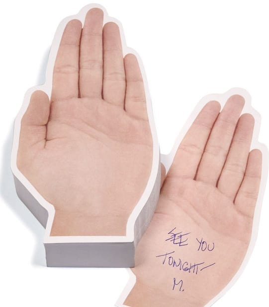 Talk To The Hand Sticky Notes