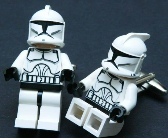 LEGO STAR WARS Minifigure Cufflinks
