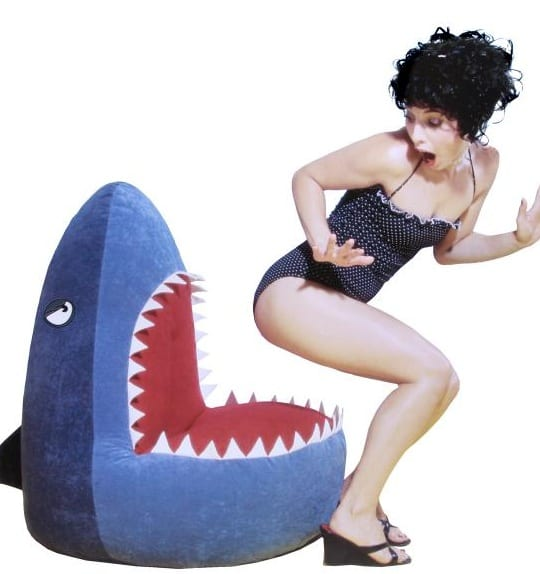 Shark! Bean Bag Cover