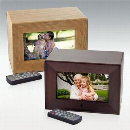 Digital Photo Frame Cremation Urn
