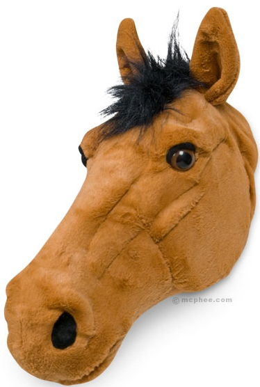 Horse Head Wall Decoration