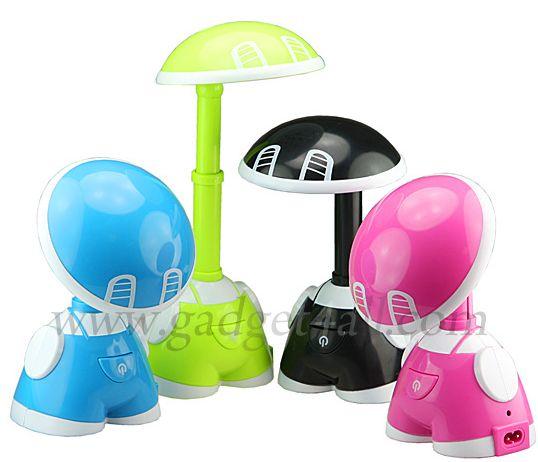 Little Child USB 15-LED Rechargeable Desk Lamp